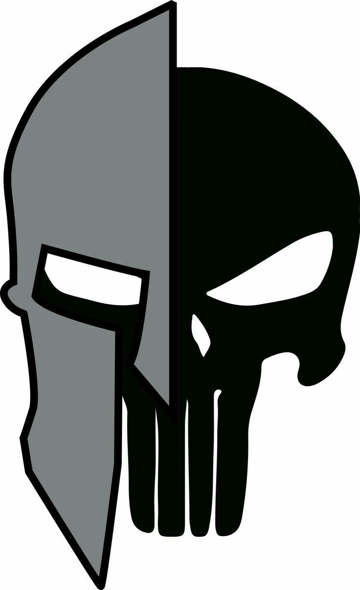 Pin By David Myatt On Projet Tattoo Spartan Tattoo Spartan Helmet Punisher