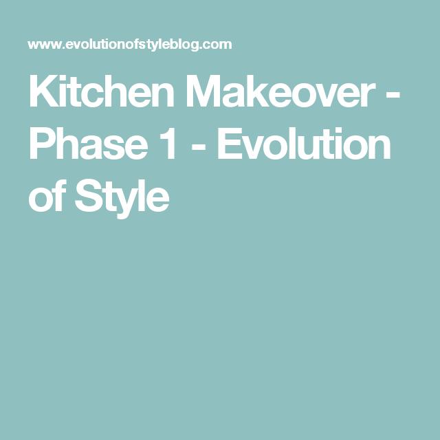 Kitchen Makeover - Phase 1 | Kitchen makeover, Makeover ...