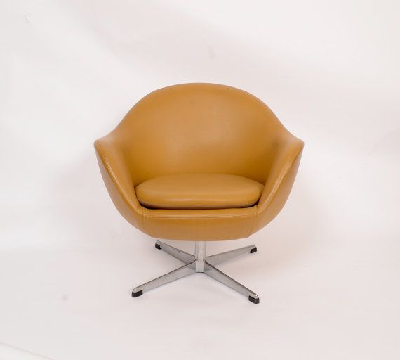 Overman AB Pod Chair Sweden Danish Modern MCM By HearthsideHome Ideal Style