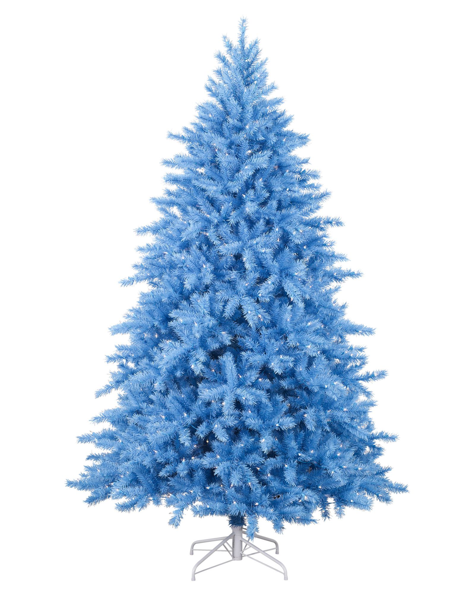 With its soft blue color, our Baby Blue Christmas Tree charms its ...