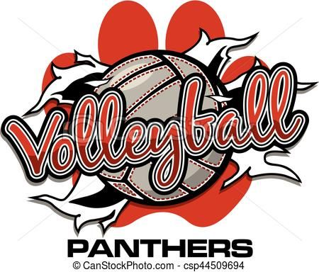 Vector Panthers Volleyball Stock Illustration Royalty Free Illustrations Stock Clip Art Icon Stock Clipart Icons Volleyball Designs Panthers Volleyball
