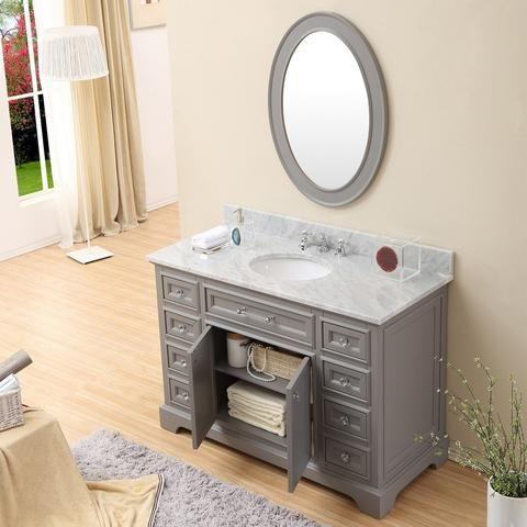 Derby 48 | Single sink bathroom vanity, Bathroom vanity ...