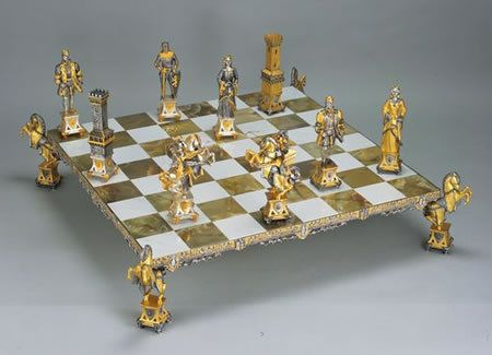 The Most Expensive Chess Set In The World Bornrich Get