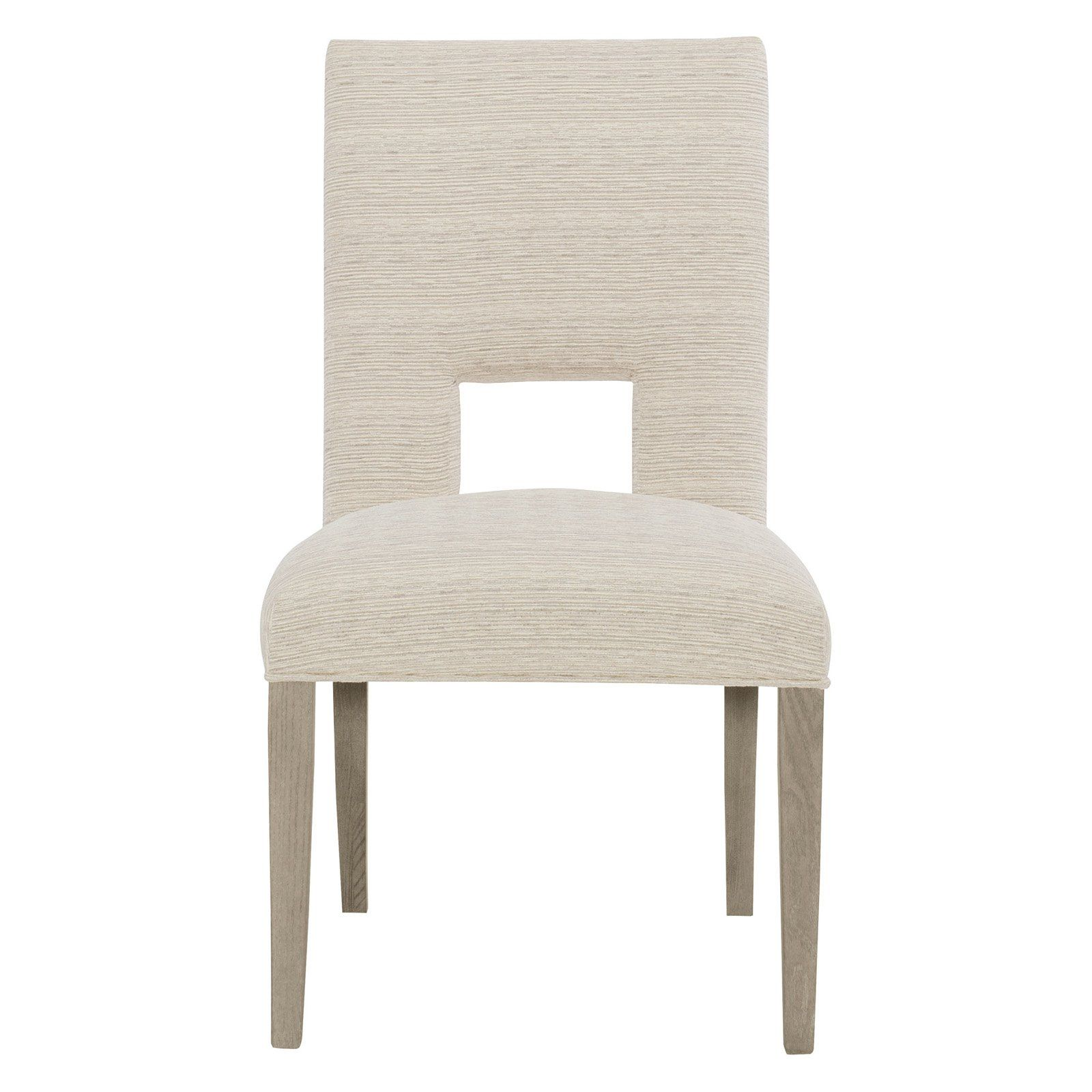 Bernhardt Mosaic Upholstered Keyhole Dining Side Chair
