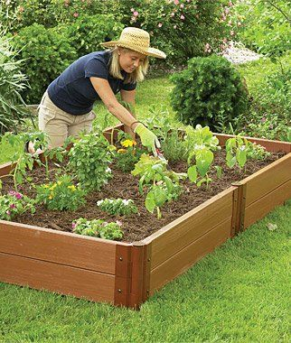4'x8' Complete Double Level Raised Bed by Burpee. $79.95. Complete Double Level Raised Bed includes six super anchor joints, six stackable corners and 12 composite wood timbers.