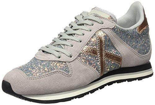 Nike Zapatillas de Material Sintético Para Hombre Gris Grey/Gold, Color Gris, Talla 43 EU