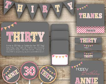 30th birthday party ideas for her Google Search Rachels 30th