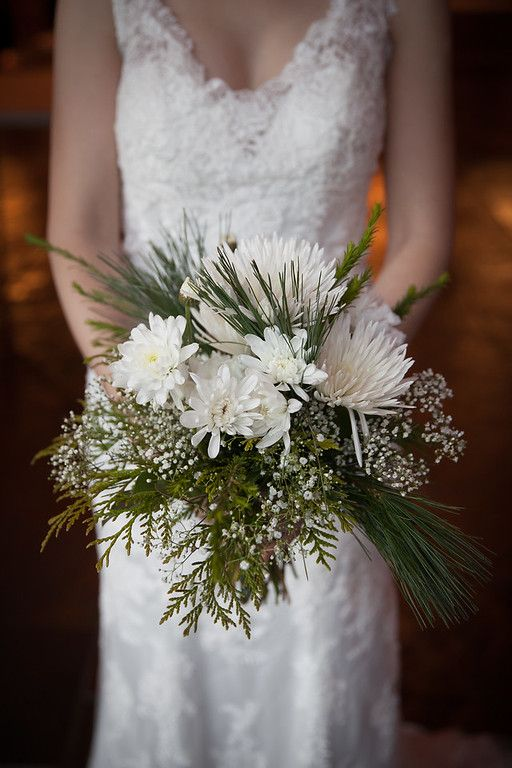 Winter Bouquet with Pine - Ignite- Photography