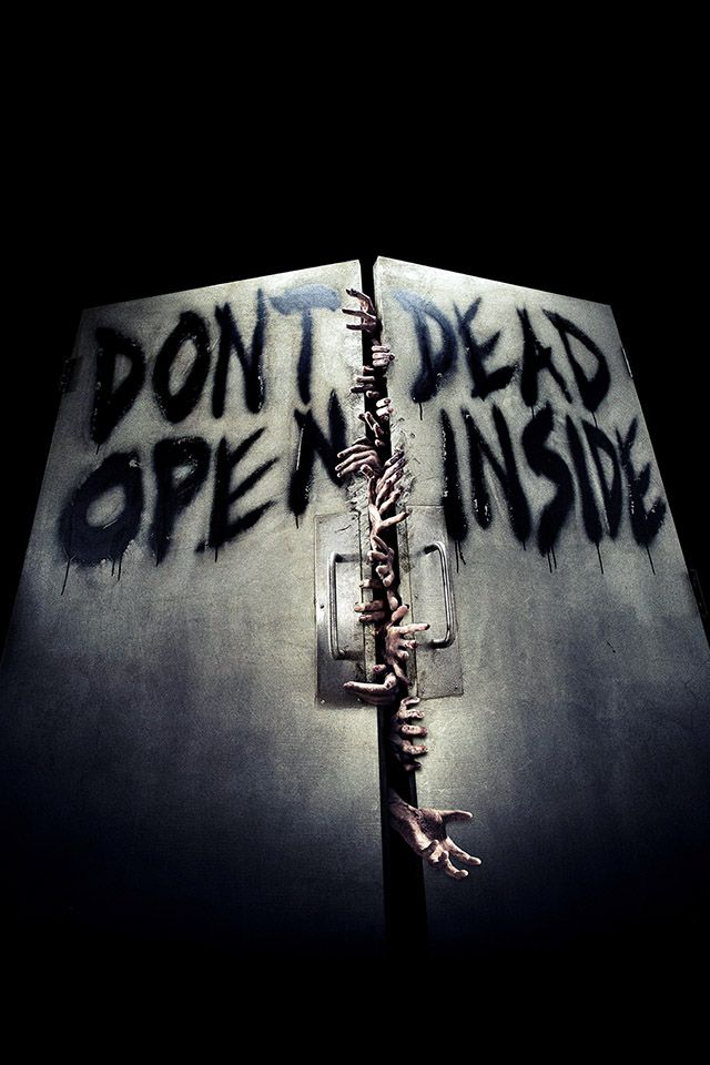 Walking Dead Inside Parallax Hd Iphone Ipad Wallpaper The
