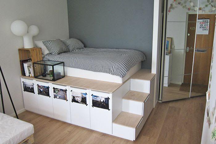 Beautiful Small Bedroom Ideas Ikea 16 In 2020 Ikea Small Bedroom Small Space Storage Bedroom Childrens Bedroom Furniture