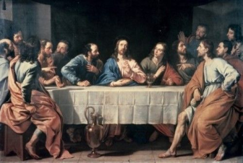 The Last Supper Philippe de Champagne Giclee Canvas Print
