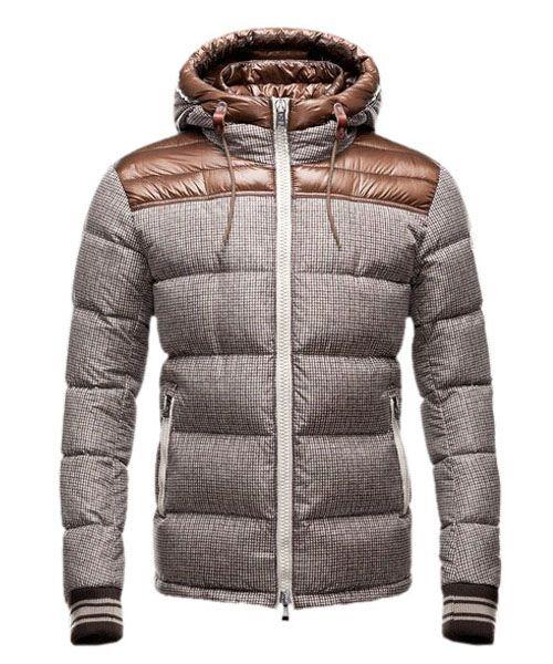 b9bc761d7d40 Moncler Fashion Eusebe Mens Down Jacket Short Brown  2781418  - 178.55