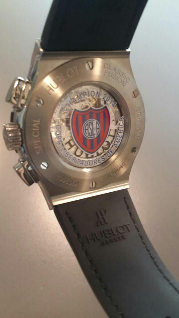 8491389aac53 Reloj Hublot San Lorenzo