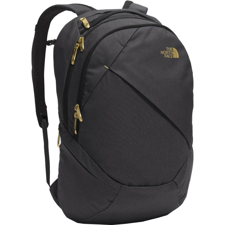 north face backpack gold