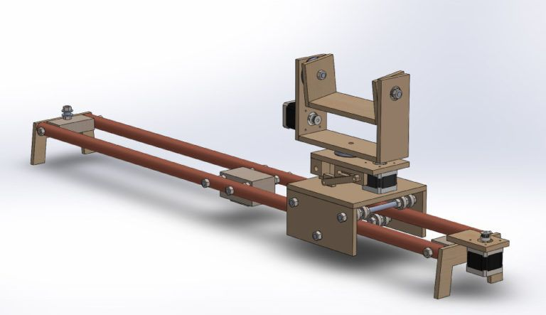 Diy Camera Slider With Pan And Tilt Head 3d Model Photo