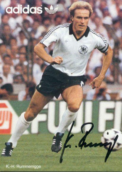 Karl Heinz Rummenigge Deutschland Fussball Deutsche Fussball Bund Dfb Team