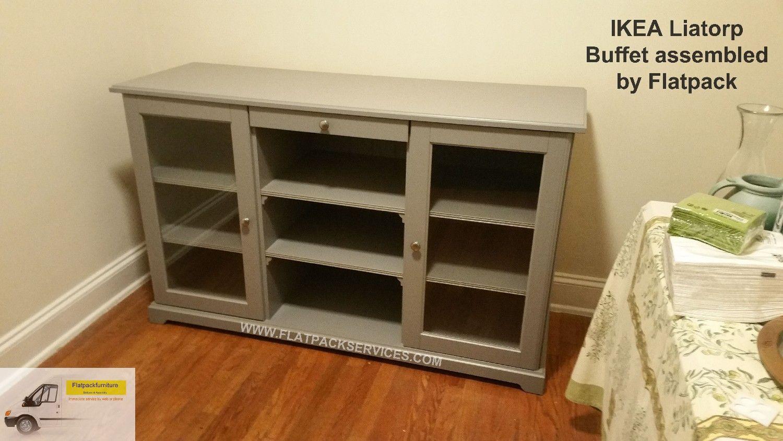Ikea Liatorp Sideboard Gray Article Number 002 694 37 Best  # Combinaison Besta Et Liatorp