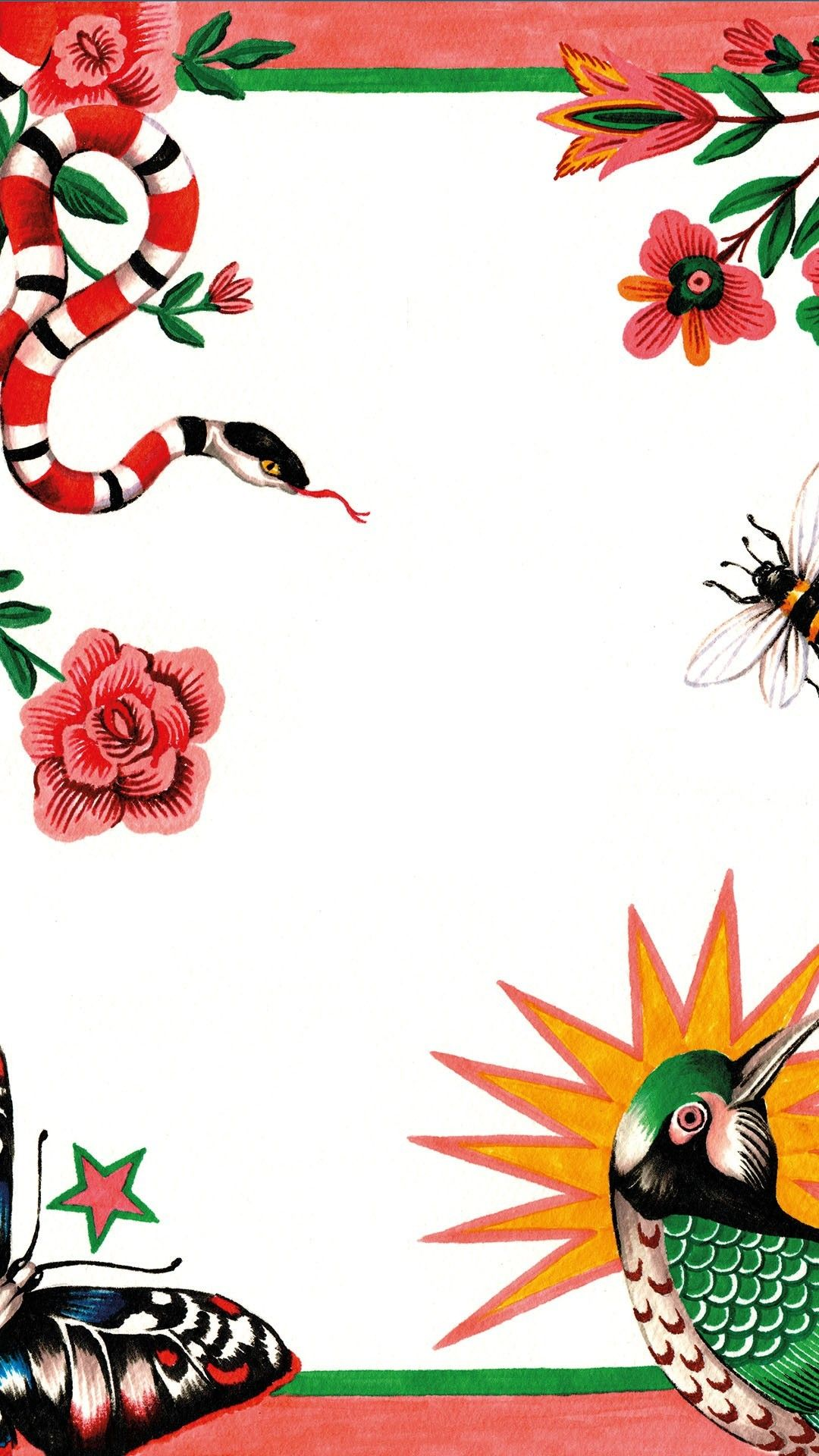 Art에 있는 자잉님의 핀 | Gucci wallpaper iphone, Iphone wallpaper ...