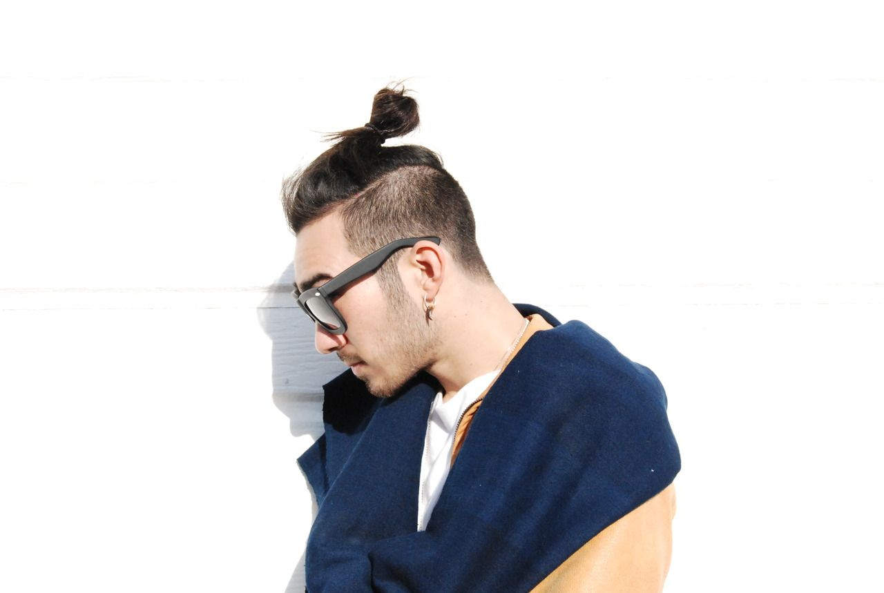 Guys with top knots and long hair hair pinterest undercut