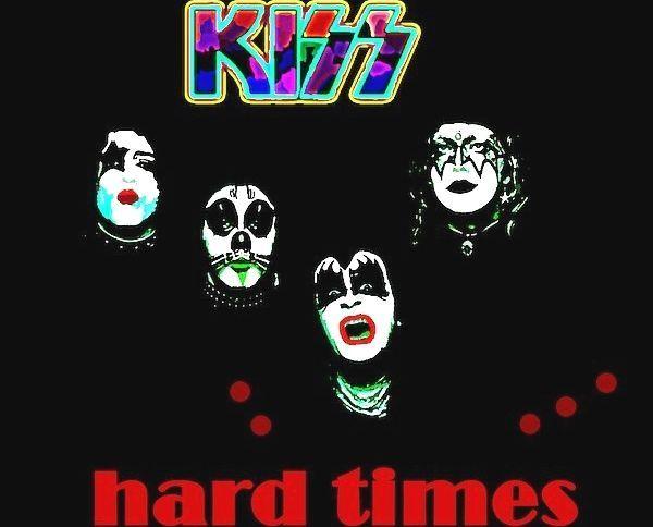 Kiss Hard Times 1979 By Enki Art Christmasart Christmasideas