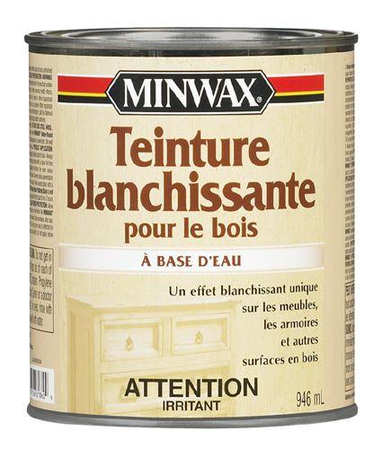 TEINTURE BLANCHISSANTE BOIS Code BMR  044-4949 Teinture Pinterest