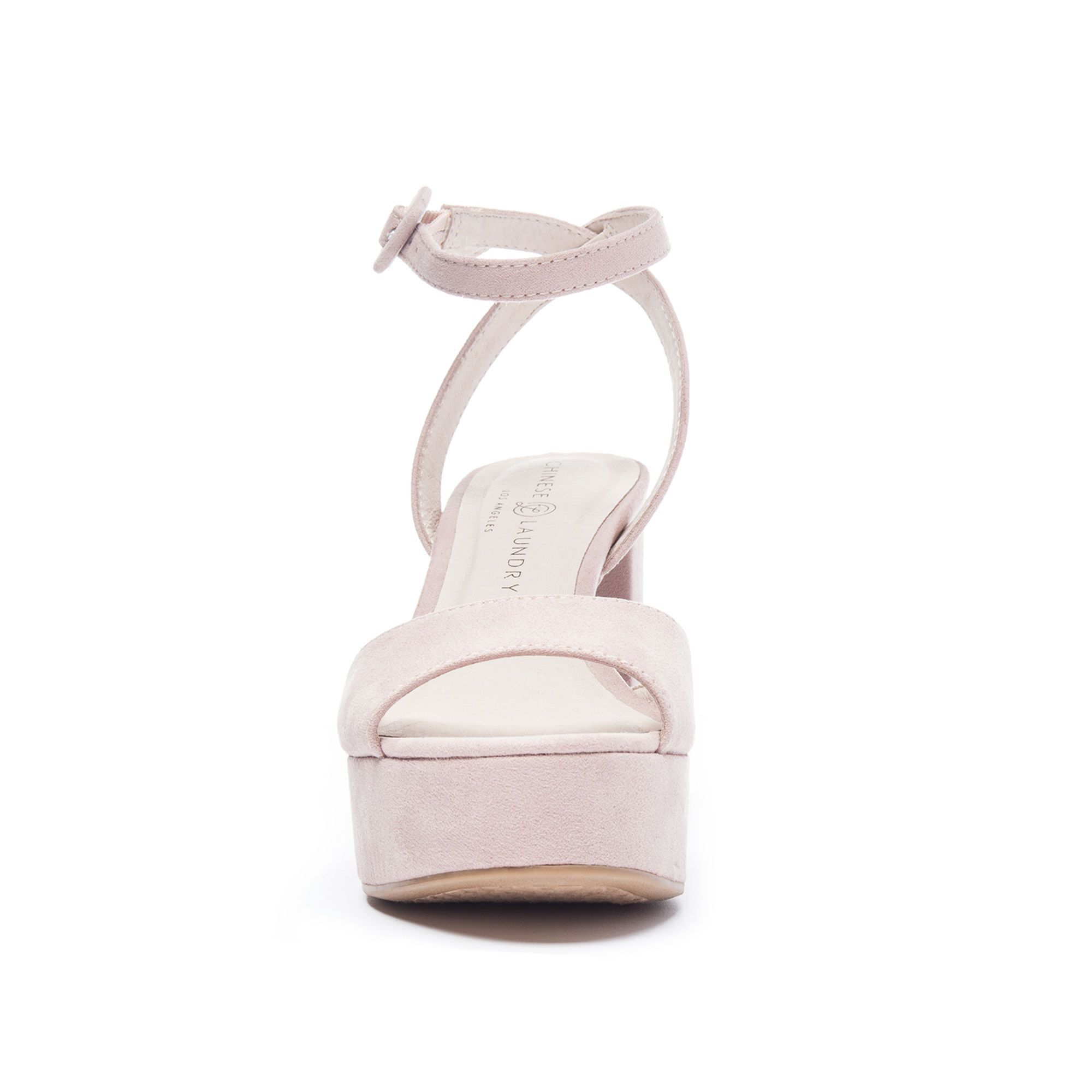 Theresa By Chinese Laundry Grey Heels Sandals Shoes