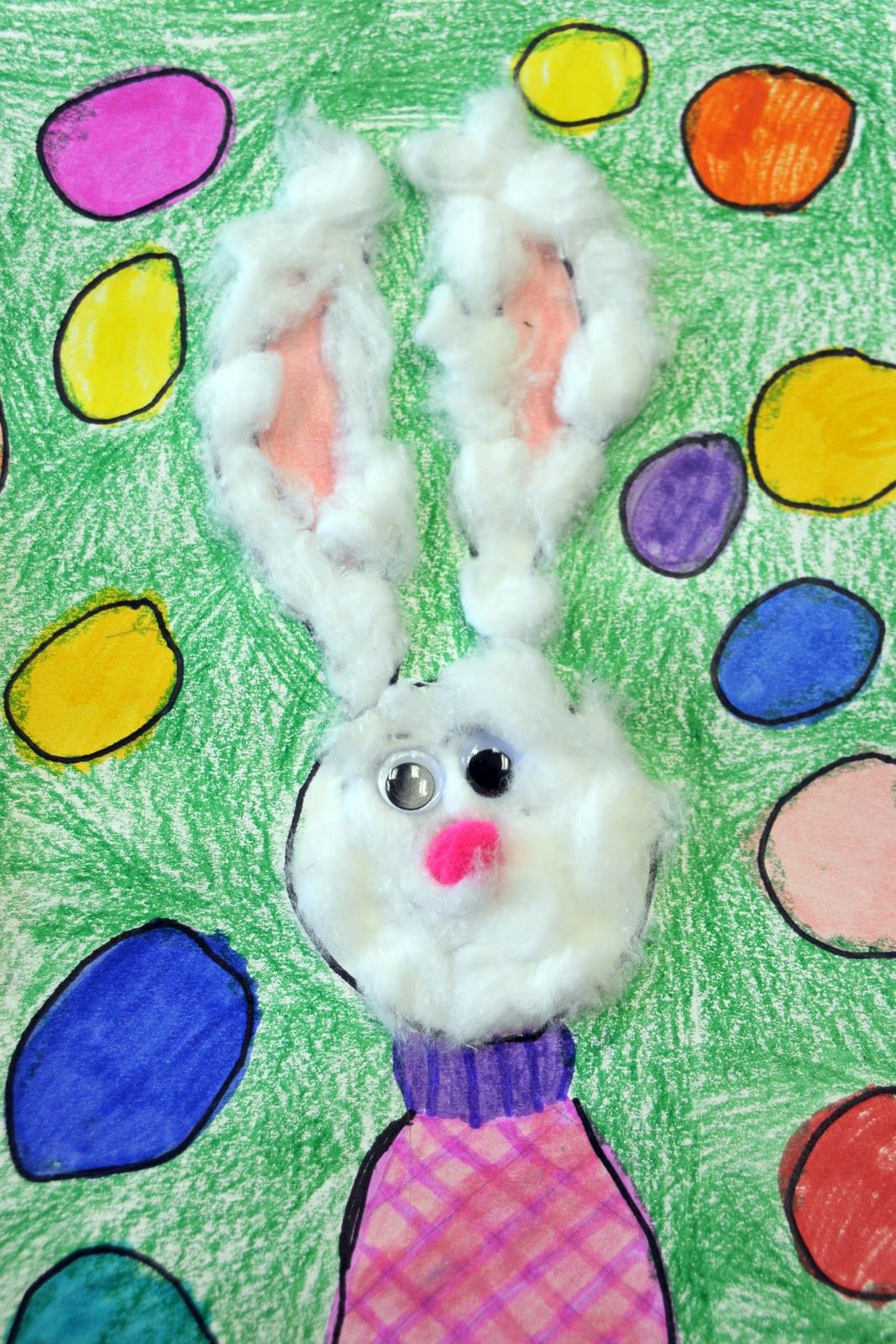 Easter Art I Love The Mixed Mediums No Tutorial Though