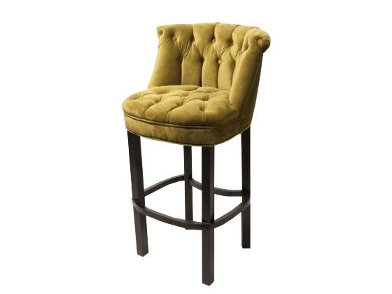 House And Contract Austin Tufted Bar Stool In Olive Velvet Different Color But These Are