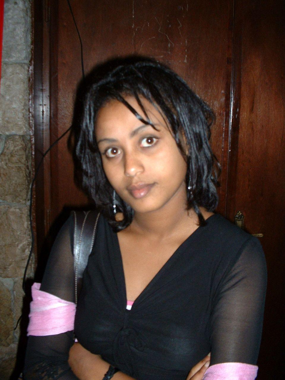 Ethiopian girls will