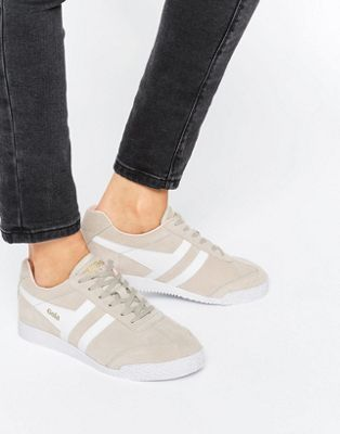 Gola Classic Harrier Sneakers In Nude White