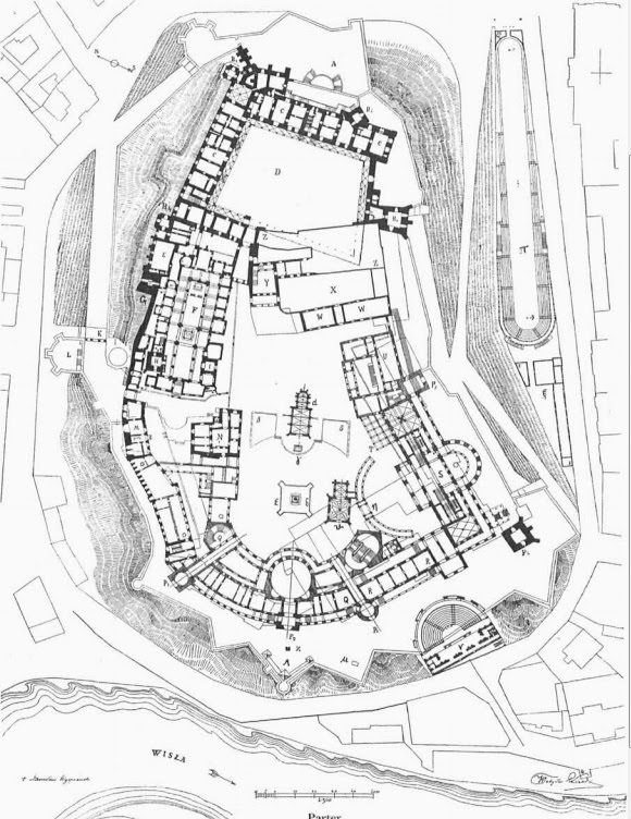 """majtra: Architektura: """"Wawelski Akropolis"""""""