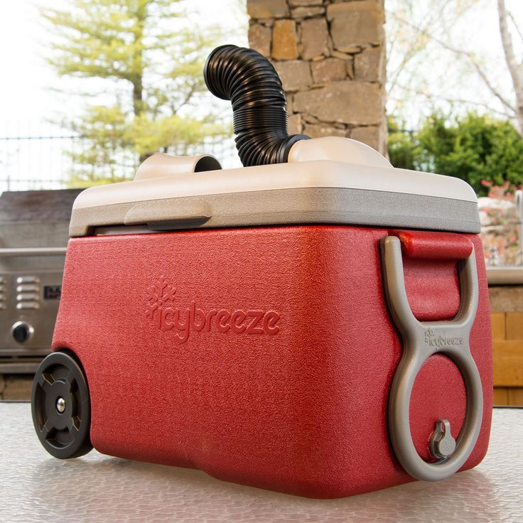 IcyBreeze Keeps You and Your Drinks Icy Cold Portable