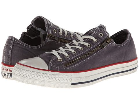 converse chuck taylor double zip ox sneakers mens