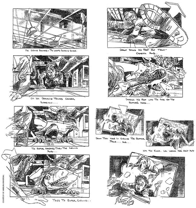 Jurassic Park' Storyboard Artist: David Lowery | Movie