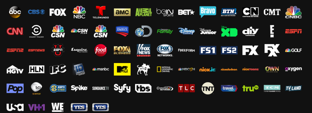 Sling Tv Vs Playstation Vue Channels Price And More Playstation Vue Sling Tv Playstation