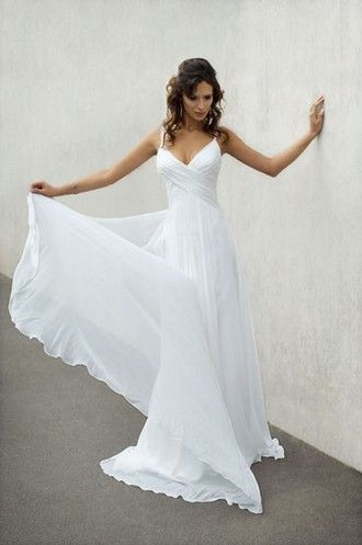 Grecian Goddess Wedding Dresses