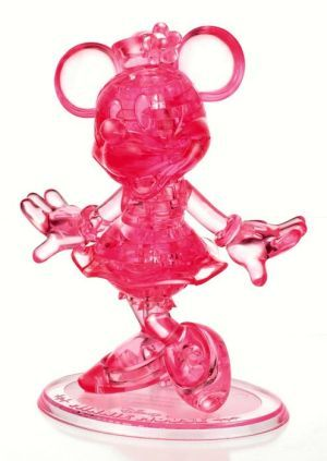 Minnie Mouse Crystal Puzzle Crystals Minnie 3d Crystal