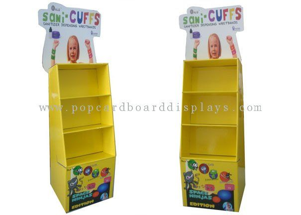 Stand de carton corrugado cart n display stand pack for Stand carton
