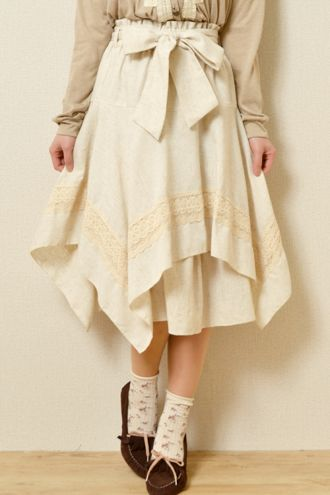 really cute, hemline handkerchief style skirt from Wonder Rocket