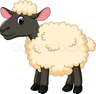 Pin By Victoria Kellison On Sheep Labels Sheep Cartoon Cute Sheep Cartoon Painting