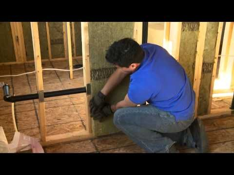 Insulate and soundproof an interior wall or room with roxul diy easy do it yourself video on how to insulate an interior partition wall or inside wall of a house using roxul comfortbatt insulation solutioingenieria Gallery
