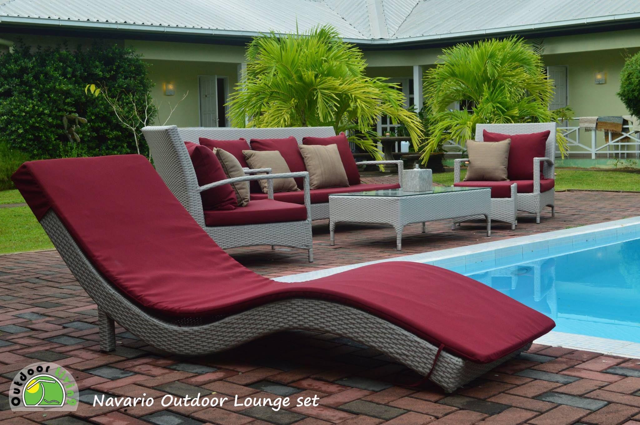 Navario outdoor lounge setting verkrijgbaar in de kleuren grijs met