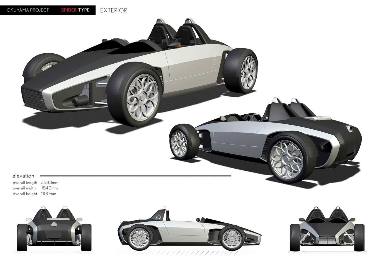 Ken okuyama ko 7 blueprint trike pinterest cars ken okuyama ko 7 blueprint concept malvernweather Choice Image