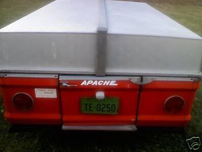 1972 Apache Eagle Pop Up Camper Click On Image Below To Return