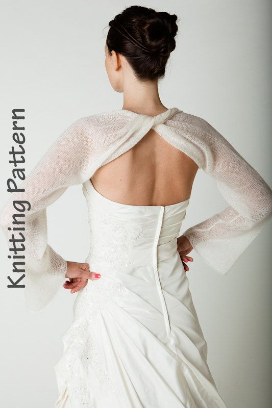 Knitting Pattern wedding scarf twisted | This would be a challenge ...