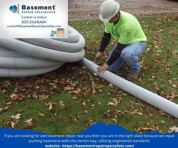 Basement Repair Specialists Near Me Wet Basement Repair Near Me Basement Repair Wet Basement Foundation Repair