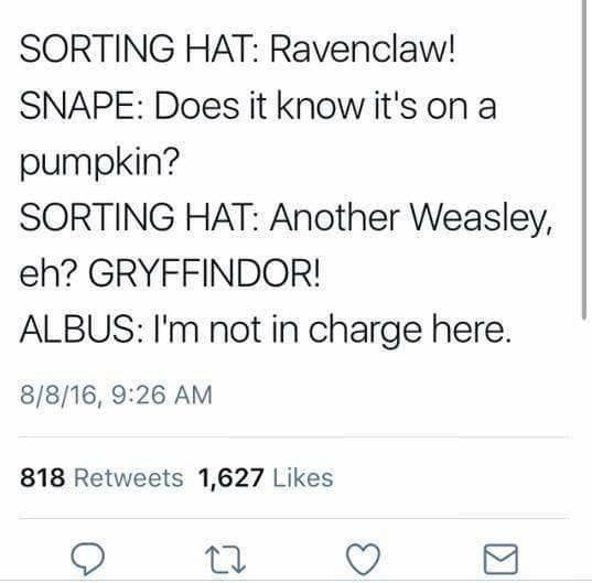19 Times Hogwarts Logic Tweets Made Us Wonder What Was Going On In J K Rowling S Head Harry Potter Memes Hilarious Harry Potter Headcannons Harry Potter Jokes