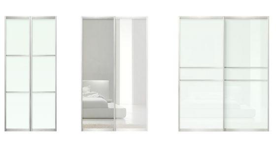 Closet Sliding Doors With Glass And Mirrors Modern Closet Doors Glass Closet Doors Sliding Closet Doors