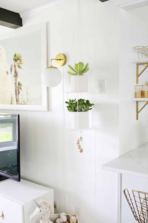Acrylic Shelf Hanging Planter Diy Crafts Diy Home Wall Decor