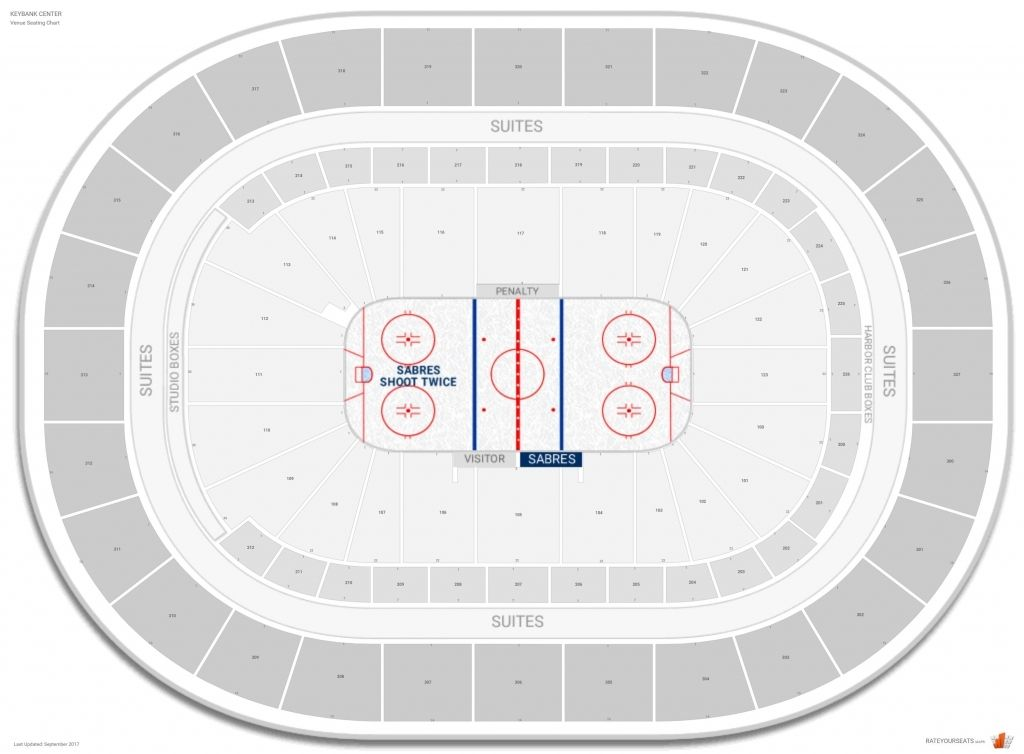 Keybank Center Seat Numbers Beautiful Safeco Field Seating Map